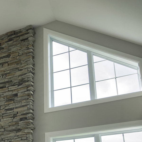 Specialty Custom Architectural Shaped Windows